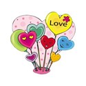 hearts balloons Love