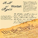 We the People Wordart