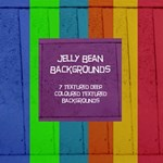 Jelly Bean Deep Colour Textured Backgrounds