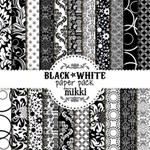 Black & White Paper Pack