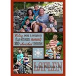 3 Photo Christmas Card