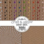 Craft & Glitter Paper Pack
