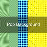 POP Pattern Background