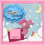 Little People Cold World (Childrens StoryBook)