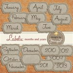 Labels : Month and Year