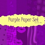 Purple Paper set