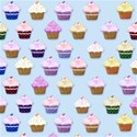 pale blue cupcake layering paper