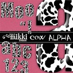 Cow Alphabet by Mikki