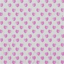 pink hearts on white textured background paper