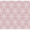 a pink bird flower heart background paper