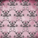 pink bird background paper