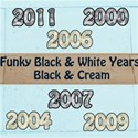 funky years preview black white cream