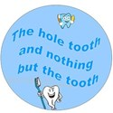the hole tooth light blue with b_g