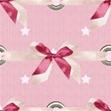 large tile bow rivet pink