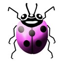light pink lady bug