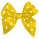 bow 01yellow dotted