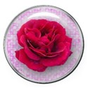 sparkle rose button