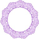 lilac icing frame