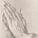 praying hands paper copy