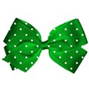green bow spotty