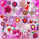 This is from my heart....pinks