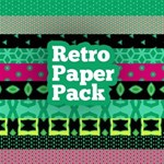 Retro Paper Pack -- 40 FREE Papers!