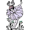 fairy princess in lavander