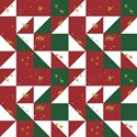 Christmas quilt background