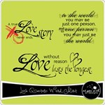 Love Quotes Word Art