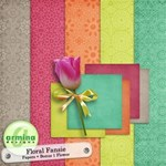 Fansy Floral Papers