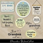 Grandma Word Art