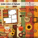 Golden Colors of Autumn (Mini Kit)