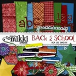 Back 2 School Kit & pages by Mikki
