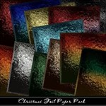 Christmas Foil Paper Pack