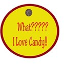 I love candy tag!