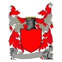 Blazon red with banner