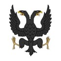 Double headed eagle simplistic