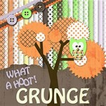 Grunge Owl - same kit with a new look!