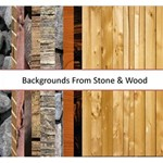 Backgrounds from Wood & Stone