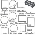 Wedding Wordart Mega Pack + frames