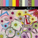 Country Florals Vol 1