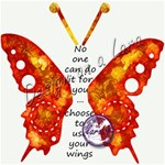 Butterfly Touch Add-on Word art