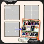 Pocket Scrapbooking: Background and frames Vol. 1