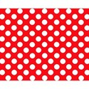 red-polkadot-background