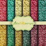 Christmas Glitter Papers