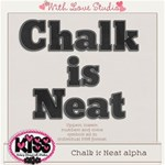 Chalk is Neat Alpha ~ *FREE* for a limited time!