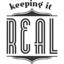Keeping it Real - Black
