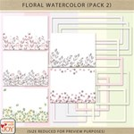 Floral Watercolor Pack 2