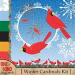 Winter Cardinals Kit