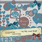 Carmensita Kit - My sweet baby BLUE
